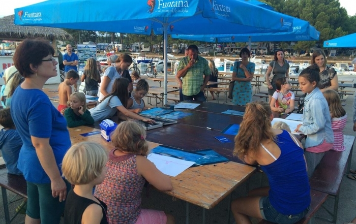 Dolphin day 2015 in Istria